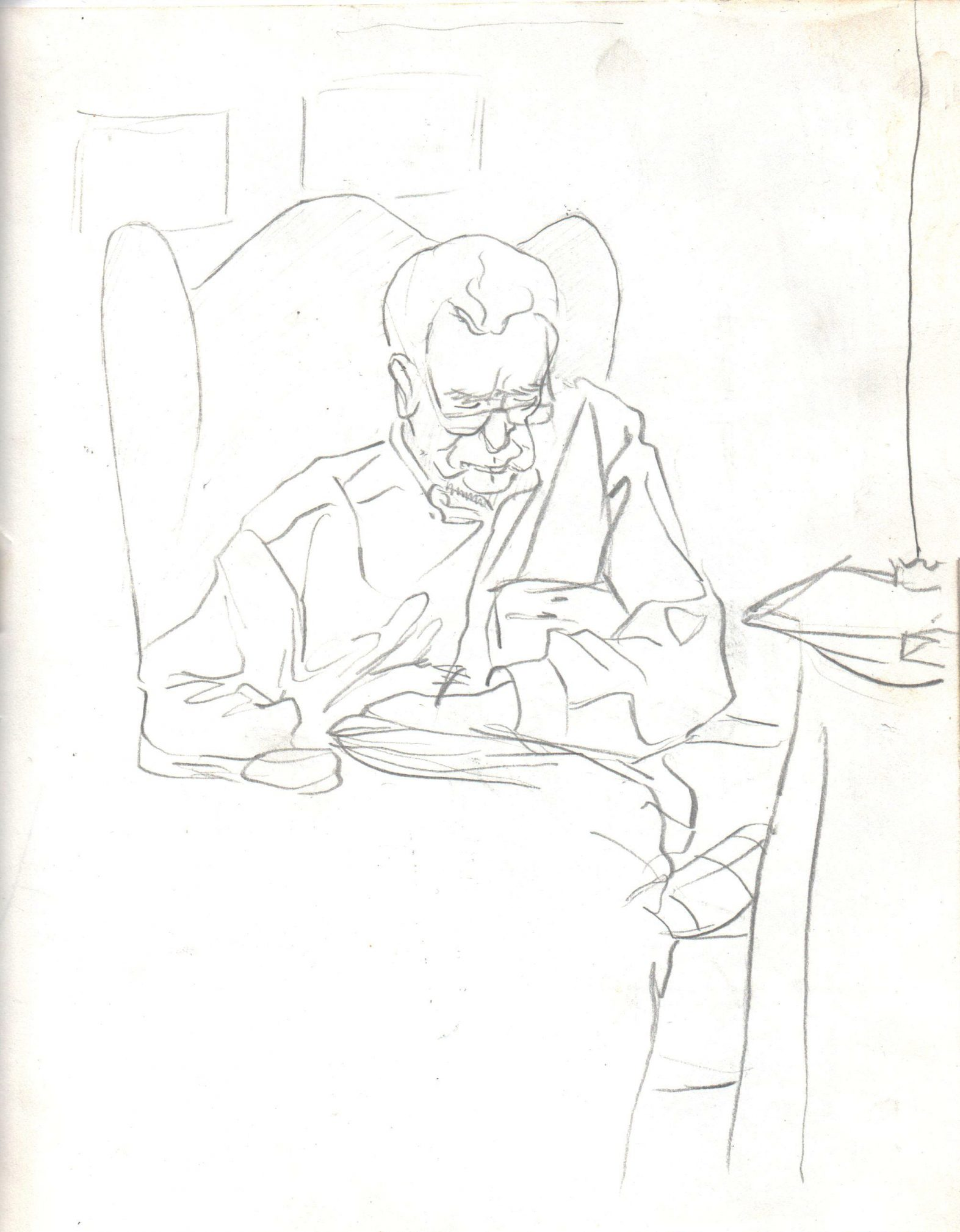 el-yayo-lápiz-grafito-alejandra-caballero-dibujo-linea-retrato