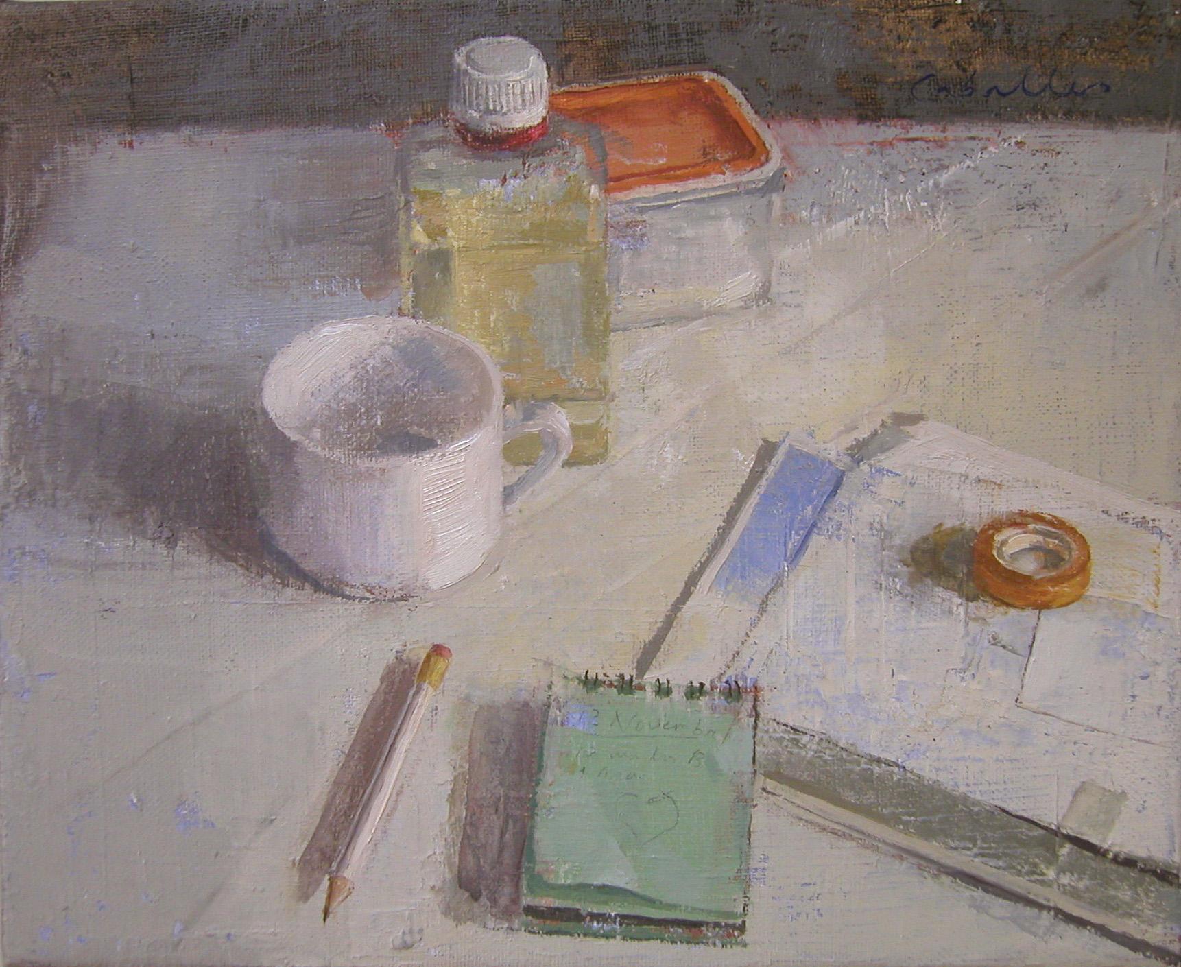 escritorio-objetos-mesa-bodegón-alejandra-caballero